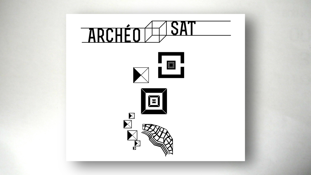 Pictograms. Archéo Sat, a serious game for the CNES (french National Center of Space Studies) with SapienSapienS agency.