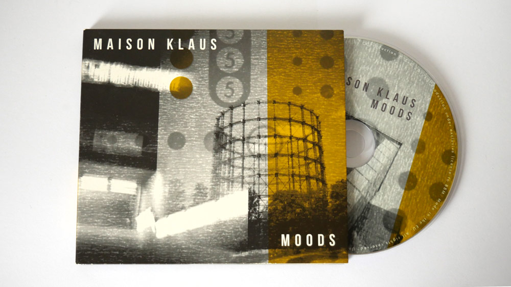 Album Cover for Maison Klaus, by Scaffold Graphics. Layout, Graphic Design, Photography, Print and publishing.